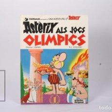 Cómics: CÓMIC TAPA DURA EN CATALÁN - ASTÈRIX ALS JOCS OLÍMPICS - EDIT GRIJALBO-DARGAUD - AÑO 1982. Lote 195202793