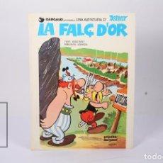 Cómics: CÓMIC TAPA DURA EN CATALÁN - ASTÈRIX, LA FALÇ D'OR - EDIT GRIJALBO-DARGAUD - AÑO 1984. Lote 195202808
