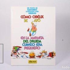 Cómics: CÓMIC TAPA DURA - COMO SE CAYÓ OBÉLIX EN LA MARMITA DEL DRUIDA... - EDIT GRIJALBO-JUNIOR - AÑO 1994. Lote 195202841