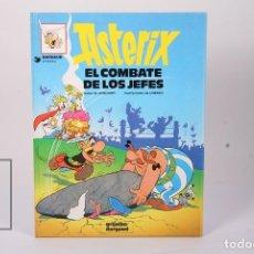 Cómics: CÓMIC TAPA DURA - ASTERIX EL COMBATE DE LOS JEFES Nº 10 - GRIJALBO-DARGAUD 1993 -CIRCULO DE LECTORES. Lote 195202882