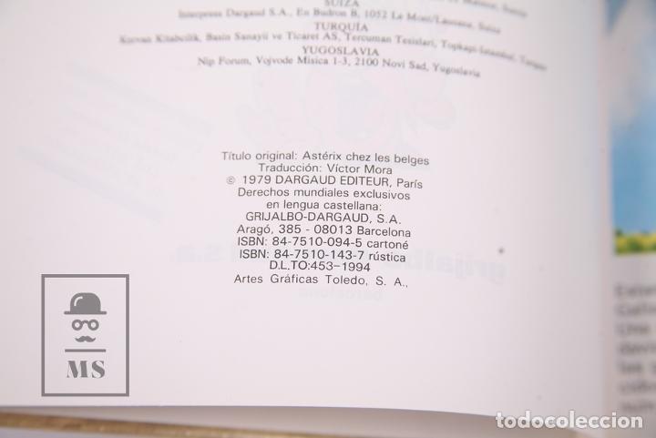 Cómics: Cómic Tapa Dura - Asterix en Belgica Nº 24 - Grijalbo-Dargaud, 1994 - Circulo de Lectores - Foto 3 - 195202948