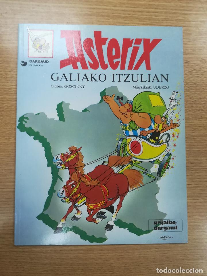 ASTERIX #17 GALIAKO ITZULIAN (RUSTICA) (1987) (Tebeos y Comics - Grijalbo - Asterix)