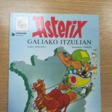 Cómics: ASTERIX #17 GALIAKO ITZULIAN (RUSTICA) (1987). Lote 195231660