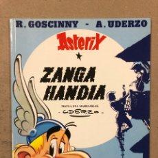 """Cómics: ASTERIX """"ZANGA HANDIA"""" R. GOSCINNY - A. UDERZO. GRIJALBO ARGITAL-TALDEA 1995. EUSKERA.. Lote 195232462"""