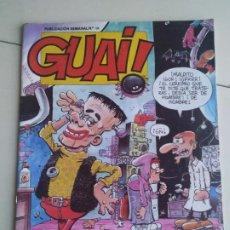 Cómics: GUAI! N° 166 (TEBEOS S.A. 1989).. Lote 195238698