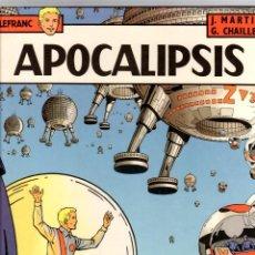 Fumetti: LEFRANC. Nº 10. APOCALIPSIS. J. MARTIN - G. CHAILLET. GRIJALBO, 1989. Lote 195267873