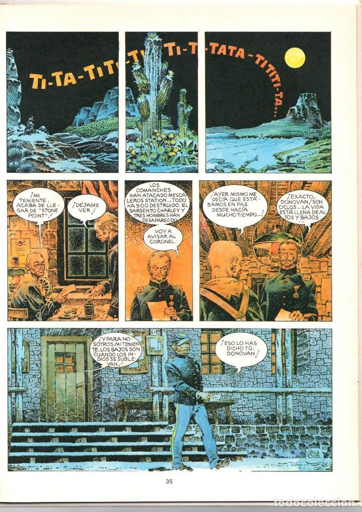 Cómics: MAC COY. Nº 15. MESCALEROS STATION. GRIJALBO, 1989 - Foto 2 - 195288386