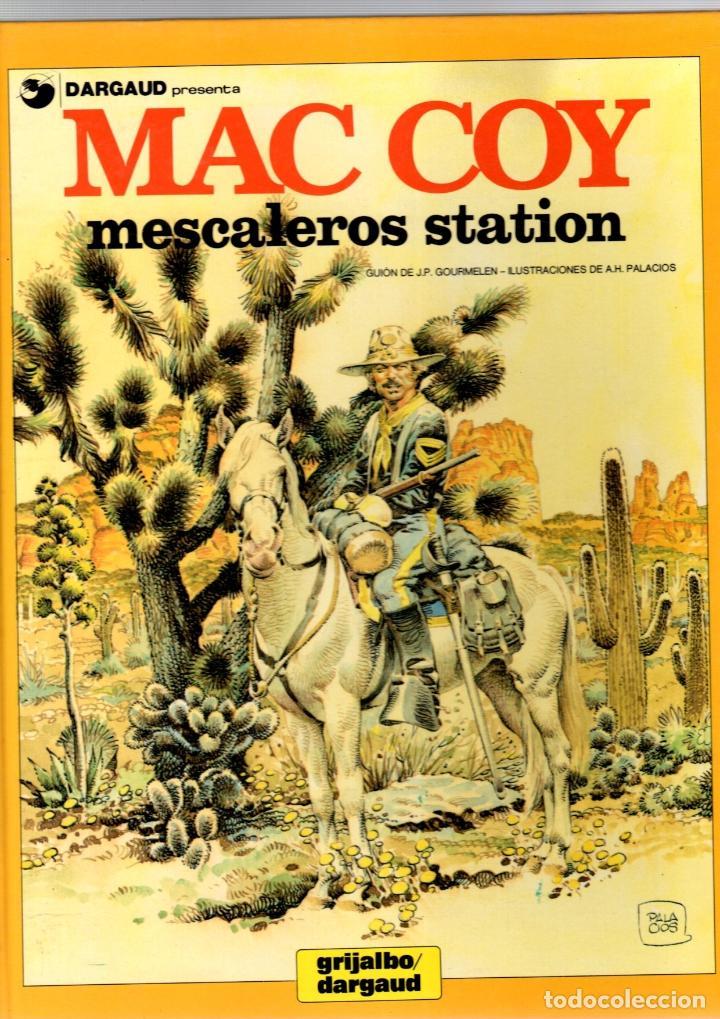 MAC COY. Nº 15. MESCALEROS STATION. GRIJALBO, 1989 (Tebeos y Comics - Grijalbo - Mac Coy)