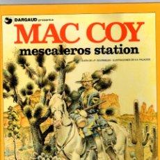 Cómics: MAC COY. Nº 15. MESCALEROS STATION. GRIJALBO, 1989. Lote 195288386