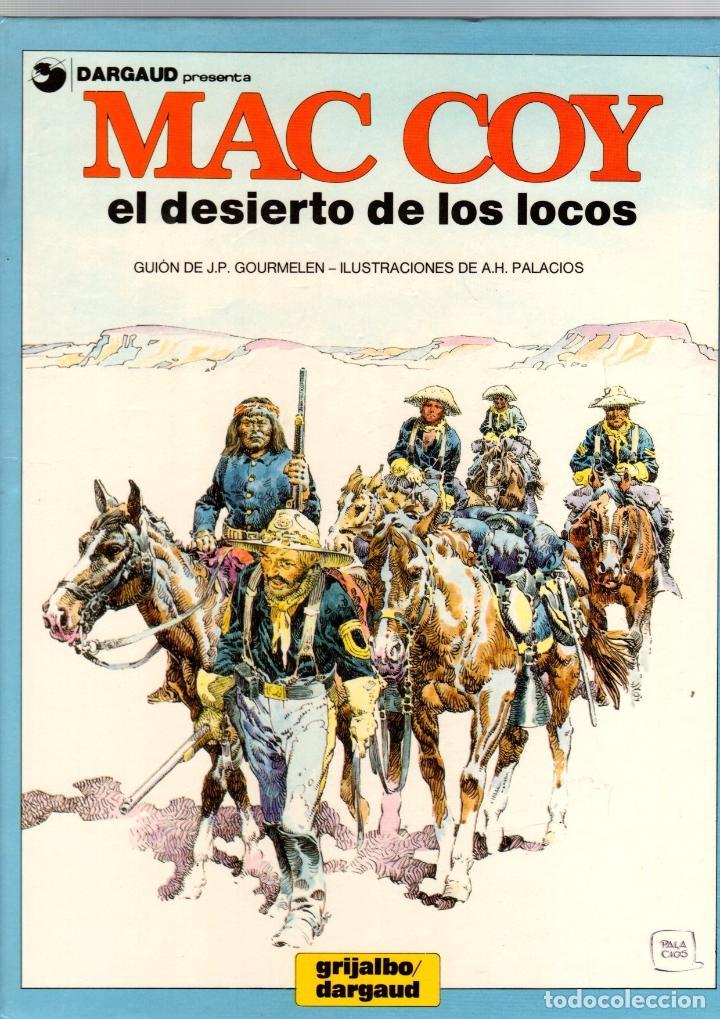 MAC COY. Nº 14. EL DESIERTO DE LOS LOCOS. GRIJALBO, 1988 (Tebeos y Comics - Grijalbo - Mac Coy)