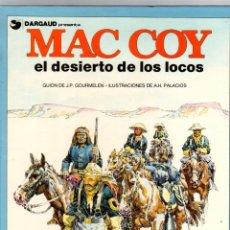 Cómics: MAC COY. Nº 14. EL DESIERTO DE LOS LOCOS. GRIJALBO, 1988. Lote 195288498