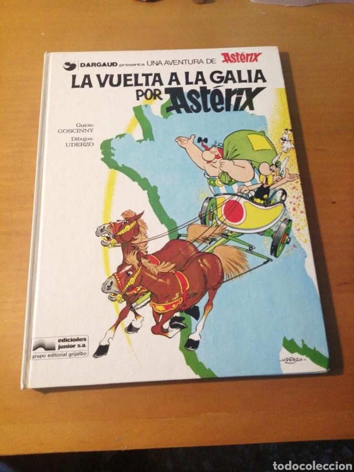 ASTERIX.LA VUELTA A LA GALIA POR ASTERIX. ED JUNIOR. GRIJALBO.1978 (Tebeos y Comics - Grijalbo - Asterix)