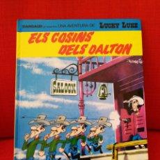 Comics: LUCKY LUKE. N°48: ELS COSINS DELS DALTON.IDIOMA CATALÀ. Lote 195301802