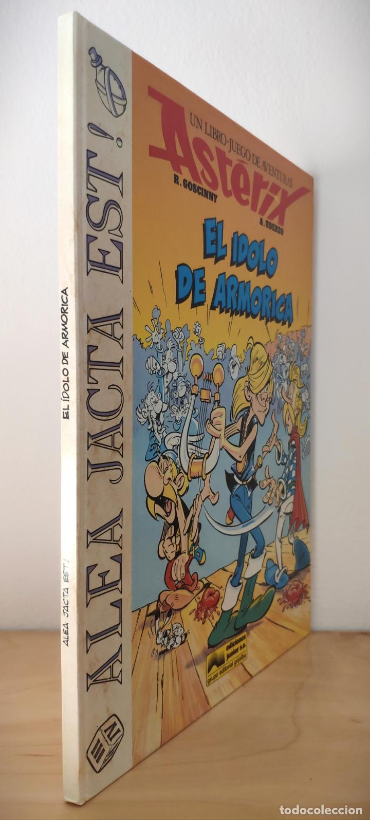Cómics: ASTÉRIX ALEA JACTA EST Nº 2 EL ÍDOLO DE ARMORICA - GRIJALBO 1988 - LIBRO JUEGO - RARO - Foto 2 - 195313772