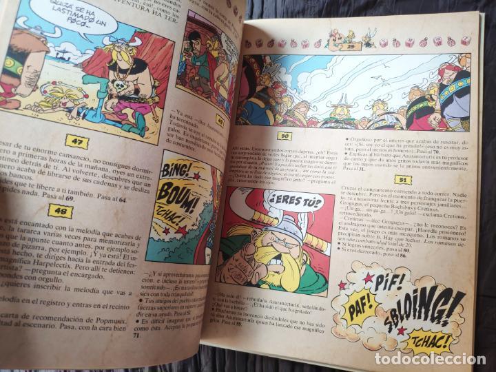 Cómics: ASTÉRIX ALEA JACTA EST Nº 2 EL ÍDOLO DE ARMORICA - GRIJALBO 1988 - LIBRO JUEGO - RARO - Foto 5 - 195313772