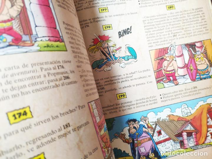 Cómics: ASTÉRIX ALEA JACTA EST Nº 2 EL ÍDOLO DE ARMORICA - GRIJALBO 1988 - LIBRO JUEGO - RARO - Foto 7 - 195313772