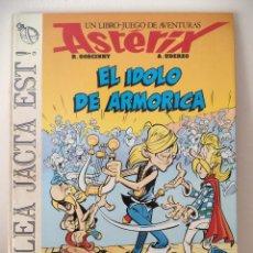 Cómics: ASTÉRIX ALEA JACTA EST Nº 2 EL ÍDOLO DE ARMORICA - GRIJALBO 1988 - LIBRO JUEGO - RARO. Lote 195313772
