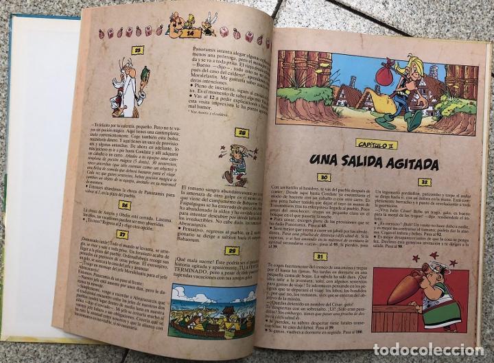 Cómics: ASTERIX. UN LIBRO-JUEGO DE AVENTURAS. LA CITA DEL JEFE. GRIJALBO, 1988 - Foto 2 - 195391823