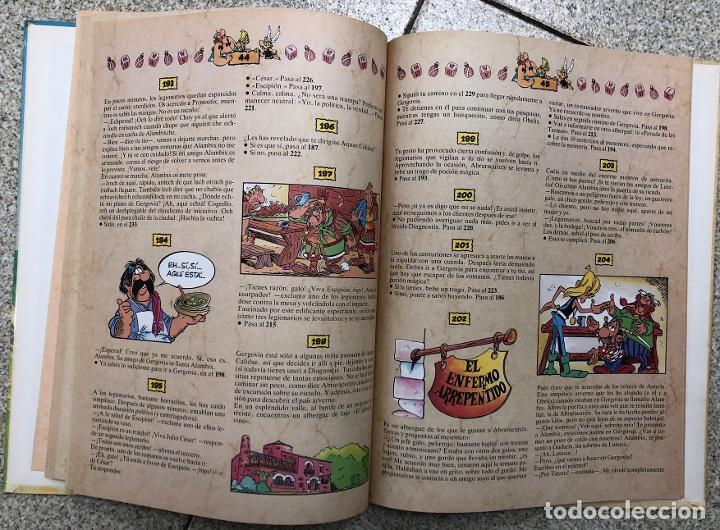 Cómics: ASTERIX. UN LIBRO-JUEGO DE AVENTURAS. LA CITA DEL JEFE. GRIJALBO, 1988 - Foto 3 - 195391823