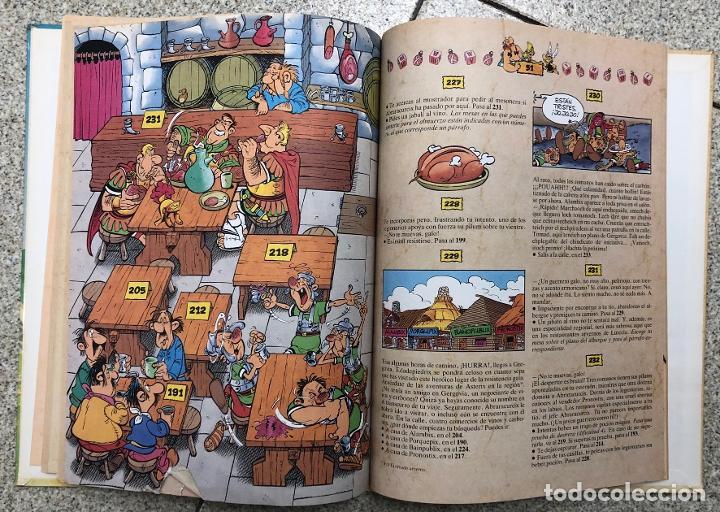 Cómics: ASTERIX. UN LIBRO-JUEGO DE AVENTURAS. LA CITA DEL JEFE. GRIJALBO, 1988 - Foto 4 - 195391823