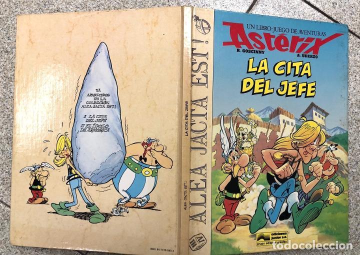 ASTERIX. UN LIBRO-JUEGO DE AVENTURAS. LA CITA DEL JEFE. GRIJALBO, 1988 (Tebeos y Comics - Grijalbo - Asterix)
