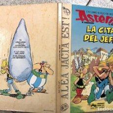 Cómics: ASTERIX. UN LIBRO-JUEGO DE AVENTURAS. LA CITA DEL JEFE. GRIJALBO, 1988. Lote 195391823