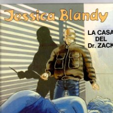 Cómics: JESSICA BLANDY. Nº 2. LA CASA DEL DR. ZACK. GRIJALBO, 1989. Lote 195470813