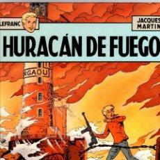 Comics : LEFRANC. Nº 2. HURACAN DE FUEGO. JACQUES MARTIN. GRIJALBO, 1986. Lote 195471262