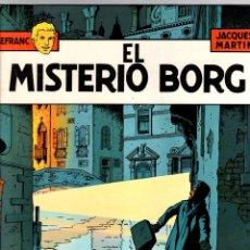 Comics : LEFRANC. Nº 3. EL MISTERIO BORG. JACQUES MARTIN. GRIJALBO, 1986. Lote 195471415