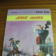 Fumetti: UNA AVENTURA DE LUCKY LUKE.-. Nº 41. JESSE JAMES. GRIJALBO/DARGAUD, 1990. EN CATALA. Lote 195506367