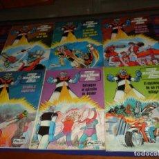 Cómics: MAZINGER Z NºS 1 2 3 4 5 6 COMPLETA. GRIJALBO JUNIOR 1978. BUEN ESTADO Y DIFÍCIL.. Lote 195533530