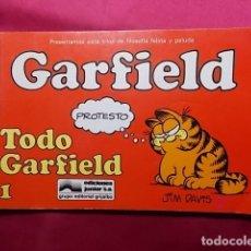 Cómics: GARFIELD. Nº 1. TODO GARFIELD. JUNIOR GRIJALBO. Lote 195652306