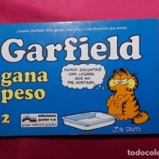 Cómics: GARFIELD GANA PESO. Nº 2. JUNIOR GRIJALBO. Lote 195652793