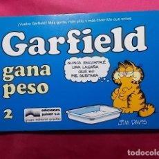 Fumetti: GARFIELD GANA PESO. Nº 2. JUNIOR GRIJALBO. Lote 195653267