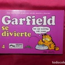 Cómics: GARFIELD SE DIVIERTE. Nº 4. JUNIOR GRIJALBO. Lote 195654658