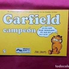 Cómics: GARFIELD CAMPEÓN. Nº 5. JUNIOR GRIJALBO. Lote 195655436