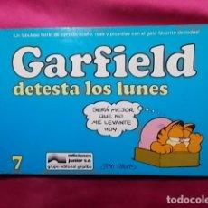 Cómics: GARFIELD DETESTA LOS LUNE. Nº 7. JUNIOR GRIJALBO. Lote 195656996