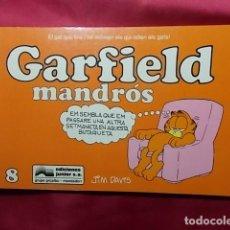 Cómics: GARFIELD MANDRÓS. Nº 8. JUNIOR GRIJALBO. EN CATALÀ. Lote 195657155