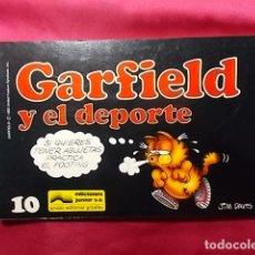Cómics: GARFIELD Y EL DEPORTE. Nº 10. JUNIOR GRIJALBO. . Lote 195675785
