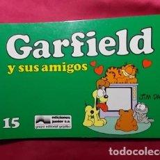 Cómics: GARFIELD Y SUS AMIGOS. Nº 15. JUNIOR GRIJALBO. . Lote 195676998