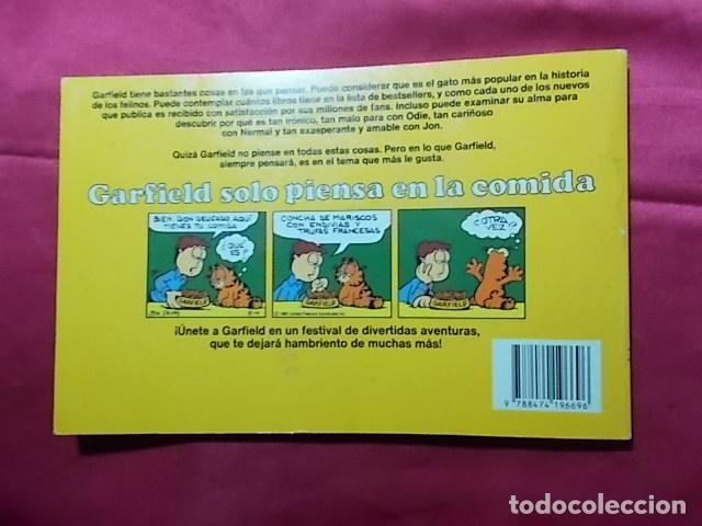 Cómics: GARFIELD SOLO PIENSA EN LA COMIDA. Nº 17. JUNIOR GRIJALBO. - Foto 2 - 195677782