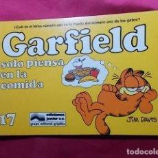 Cómics: GARFIELD SOLO PIENSA EN LA COMIDA. Nº 17. JUNIOR GRIJALBO. . Lote 195677782