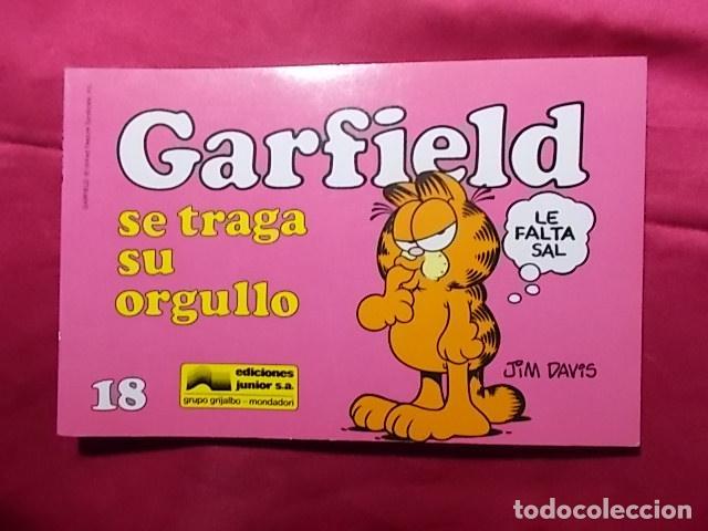 GARFIELD SE TRAGA SU ORGULLO. Nº 18. JUNIOR GRIJALBO. (Tebeos y Comics - Grijalbo - XIII)