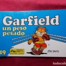 Cómics: GARFIELD UN PESO PESADO. Nº 19. JUNIOR GRIJALBO. . Lote 195677988