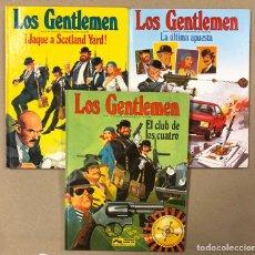 Cómics: LOS GENTLEMEN N° 1, 2 Y 3. CASTELLI - TACCONI. EDICIONES JUNIOR - GRUPO EDITORIAL GRIJALBO 1980/81/8. Lote 195751752