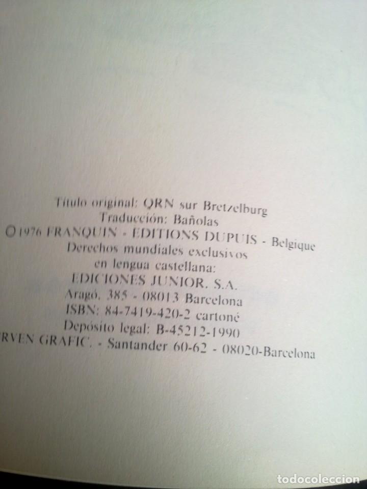 Cómics: SPIROU Y FANTASIO QRN EN BRETZELBURG - Foto 4 - 195765712