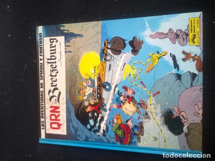 SPIROU Y FANTASIO QRN EN BRETZELBURG (Tebeos y Comics - Grijalbo - Spirou)