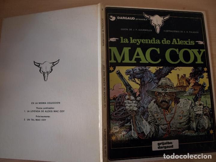 LA LEYENDA DE ALEXIS MAC COY - NÚMERO 1 - TAPA DURA - EDICIONES JUNIOR (Tebeos y Comics - Grijalbo - Mac Coy)