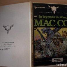 Cómics: LA LEYENDA DE ALEXIS MAC COY - NÚMERO 1 - TAPA DURA - EDICIONES JUNIOR. Lote 195804141