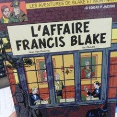 Fumetti: L AFFAIRE FRANCIS BLAKE. EN FRANCÉS. Lote 195866873